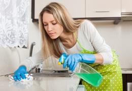 úklid kuchyně