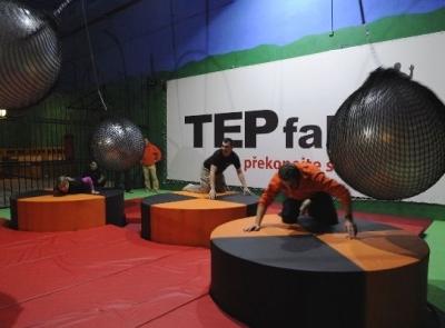 TEPfaktor - týmové dobrodružství, cena: 1500 Kč pro 2 osoby na 2 hodiny