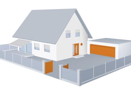 mobilní aplikací BiSecur ze ovládat vstupní vrata, garážová vrata i dveře