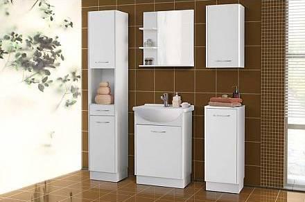 Koupelnový nábytek KLEA-bílá, sleva 38%. Cena: 4 220 Kč