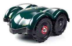 Robotická sekačka Ambrogio L60B je vyvinuta pro sečení ploch do 400m2, cena: 29 900 Kč (www.robotworld.cz)