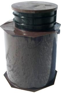 typ B - plastová samonosná nádrž se osazuje pod terén na betonovou základovou desku.