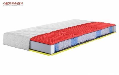 antibakteriální matrace SAVOY tvořena jádrem ze sedmizónových taštičkových pružin kombinovaná s antibakteriální certifikovanou pěnou firmy SANITIZED®