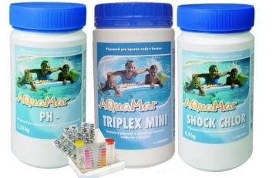 chlorová bazénová chemie z řady Aguamar je bezpečná a šetrná pro vás i bazén.