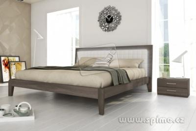 dřevěná postel z masivu BERGAMO buk