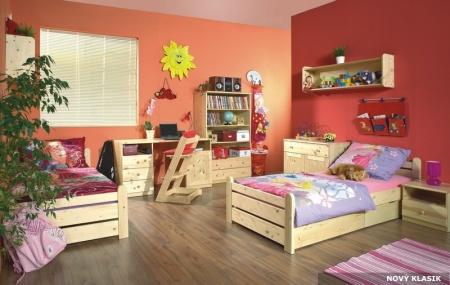 Dětské pokoje nový klasik