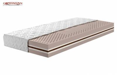 matrace Xena ze 100% přírodního latexu kombinovaná se speciálním materiálem BIOTEX - materiál s vysokým podílem ovčí vlny.