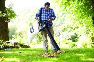 Ti z vás, co mají na zahrádce hodně listnatých stromů ocení zahradní vysavač. Žádné pracné hrabání, stačí rychle vysát!